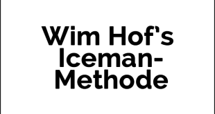 Wim Hof's Iceman-Methode