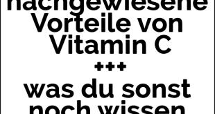 33 nachgewiesene Vorteile von Vitamin C + was du sonst noch wissen musst