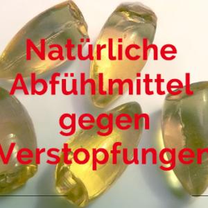 natürliche Abführmittel gegen Verstopfungen